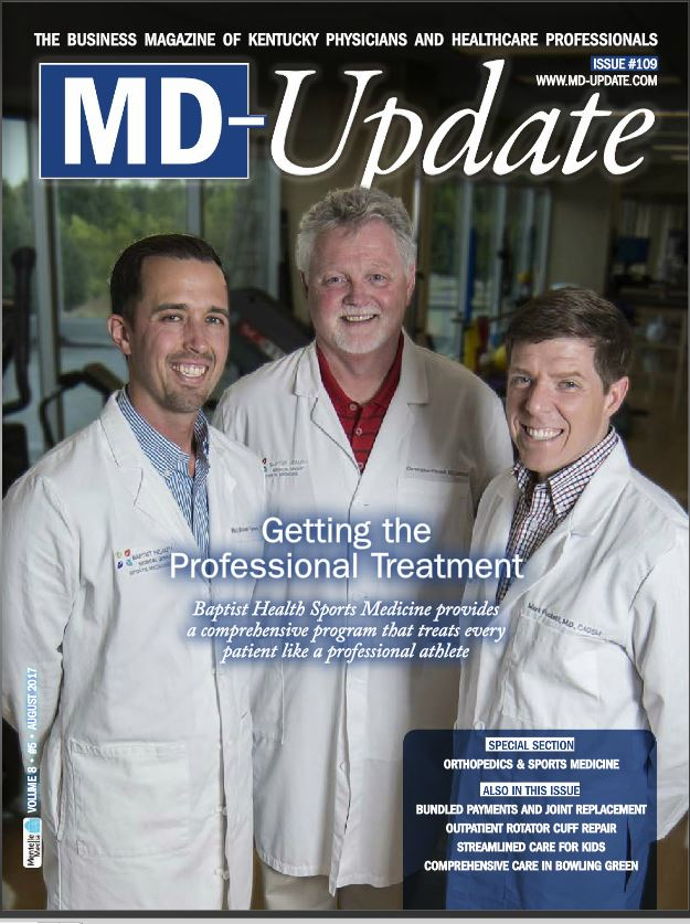 M.D. Update front cover