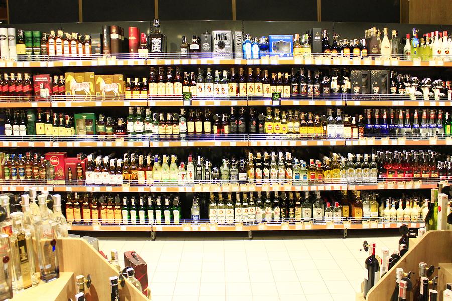 Retail alcohol sales
