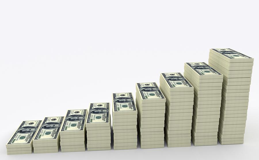 Money adding up