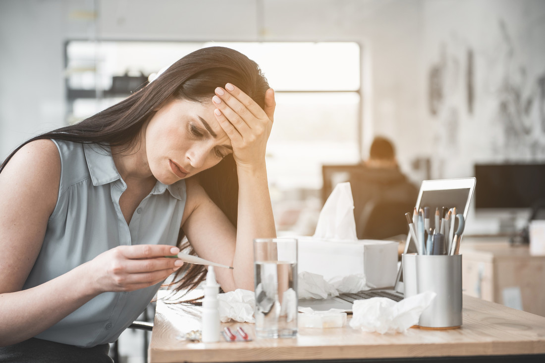 Sick employee