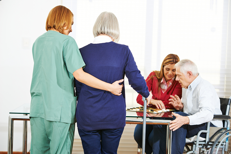 Elderly people in Nursing Home