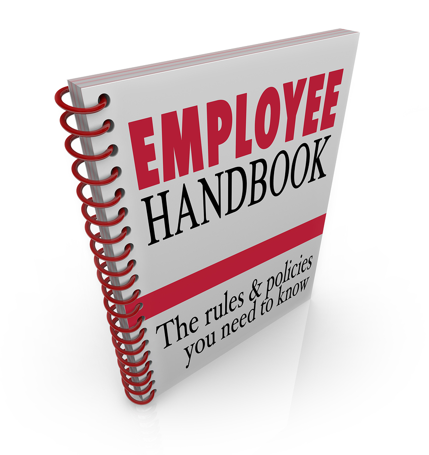 Employee Handbook Manual Rules Regulations Code of Worker Conduc