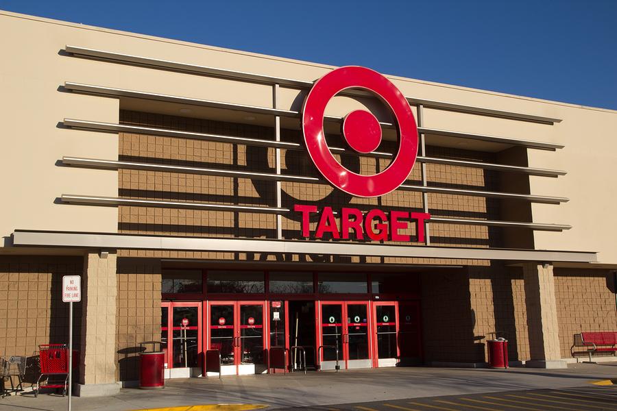 JACKSONVILLE, FL-FEBRUARY 18, 2014: A Target store  in Jacksonvi