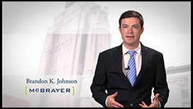 Video of Brandon K. Johnson
