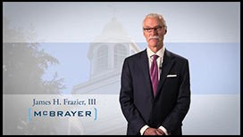 Video of James H. Frazier, III