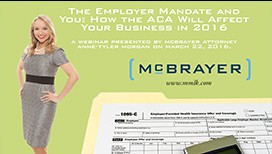 Photo of Webinar - The Employee Mandate and You: How the ACA Will Affect Your Business in 2016