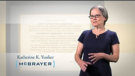 Video of Katherine K. Yunker