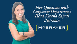 Photo of Five Questions with Keeana Sajadi Boarman